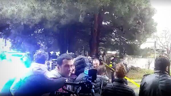 Спецоперация в Тбилиси: кадры с места боя с террористами - Sputnik Грузия