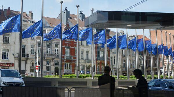 ევროპული კვარტალი ბრიუსელში - Sputnik საქართველო