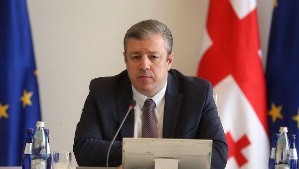 Премьер-министр Георгий Квирикашвили - Sputnik Грузия