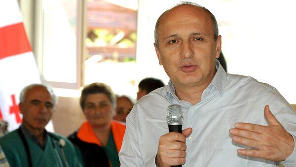Бывший премьер-министр Грузии Вано Мерабишвили - Sputnik Грузия
