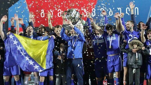 Чихура стала обладателем Кубка Грузии по футболу - Sputnik Грузия