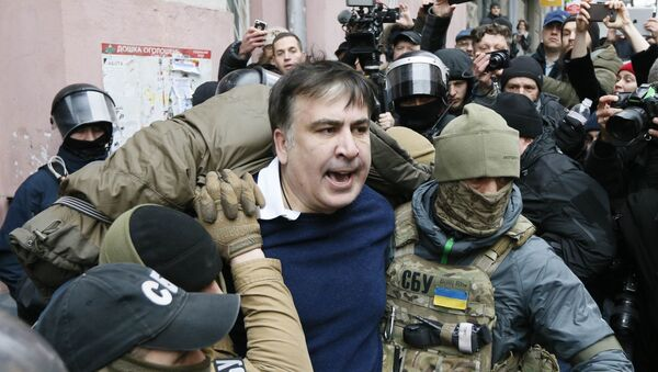 Задержание Михаила Саакашвили в Киеве - Sputnik Грузия