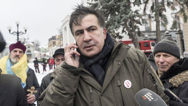 Михаил Саакашвили в Киеве - Sputnik Грузия