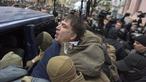 Михаил Саакашвили задержан полицией в Киеве - Sputnik Грузия