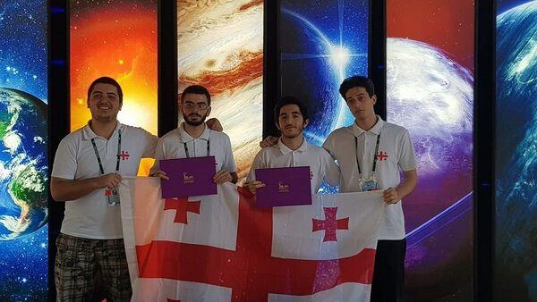 ქართველი მოსწავლეები ოლიმპიადაზე ტაილანდში - Sputnik საქართველო