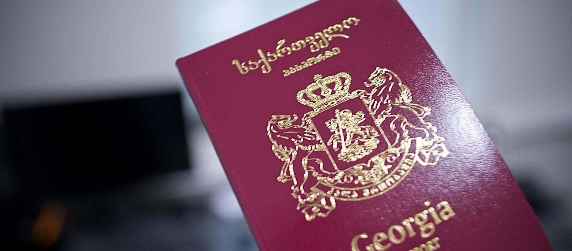 Грузинский международный биометрический паспорт - Sputnik Грузия, 1920, 06.01.2021