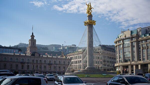 Площадь Свободы в Тбилиси - Sputnik Грузия