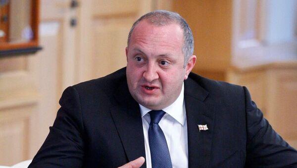 Президент Грузии Георгий Маргвелашвили - Sputnik Грузия
