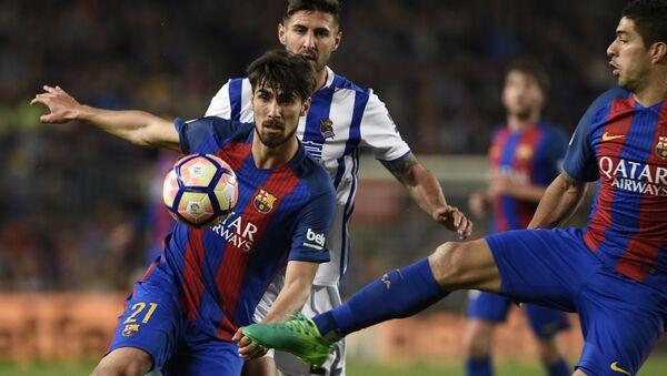 Матч между клубами Барселона и Реал Мадрид в рамках чемпионата Испании - Sputnik Грузия