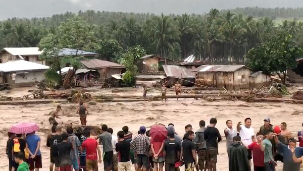 Последствия шторма на Филиппинах - Sputnik Грузия