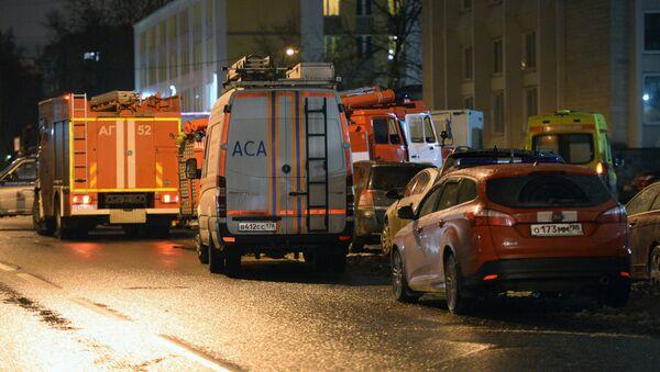 Взрыв в магазине Перекресток в Санкт-Петербурге - Sputnik Грузия