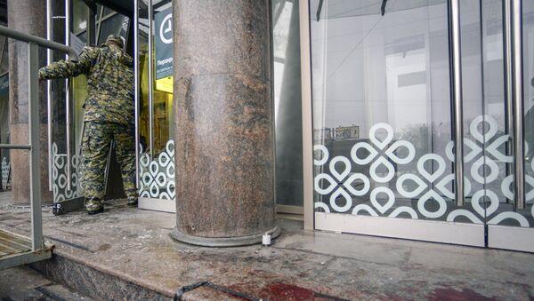 Последствия взрыва в магазине Перекресток в Санкт-Петербурге - Sputnik Грузия