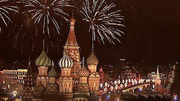 Как в разных городах мира встретили Новый 2018 год - Sputnik Грузия