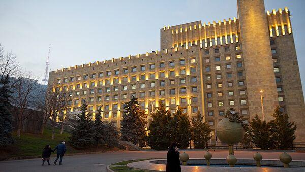 Здание правительственной администрации Грузии - Sputnik Грузия