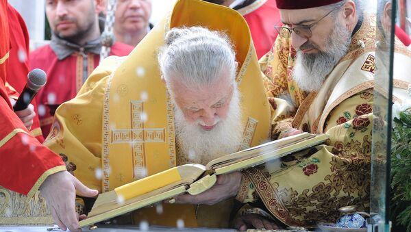 საქართველოს კათოლიკოს-პატრიარქი ილია მეორე - Sputnik საქართველო