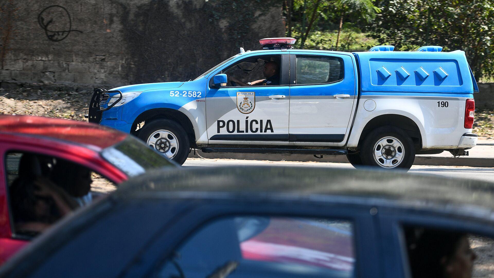Автомобиль полиции в Бразилии - Sputnik Грузия, 1920, 07.10.2021