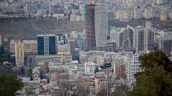 მშენებლობები თბილისში - Sputnik საქართველო