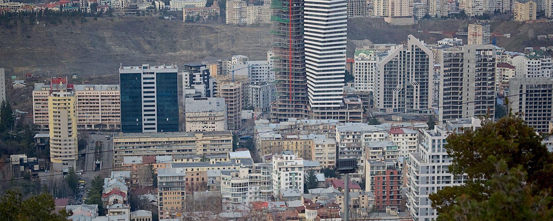 მშენებლობები თბილისში - Sputnik საქართველო, 1920, 20.10.2020