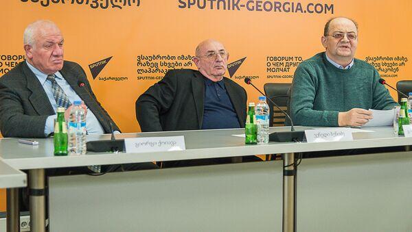"""მრგვალი მაგიდა: """"ქართული სამართალი რეფორმების ფონზე - Sputnik საქართველო"""