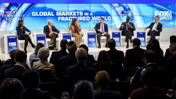 Всемирный экономический форум в Давосе - Sputnik Грузия