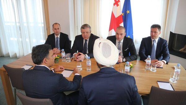 Премьер Грузии Георгий Квирикашвили на встрече с потенциальными инвесторами - Sputnik Грузия