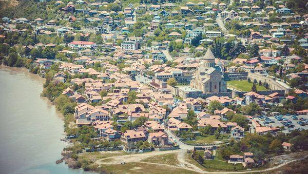 Общий вид на город Мцхета - Sputnik Грузия