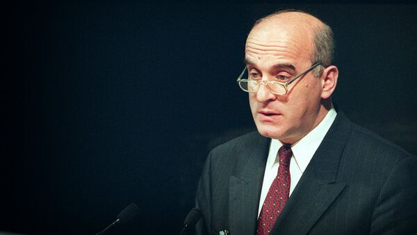 Бывший министр иностранных дел Грузии Ираклий Менагаришвили, архивное фото - Sputnik Грузия