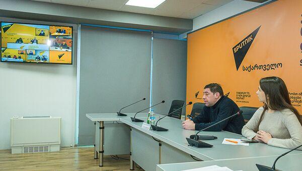 ვისოცკის იუბილესადმი მიძღვნილი პრესკონფერენცია - Sputnik საქართველო