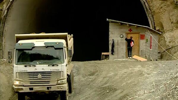 გვირაბის მშენებლობა ხარაგაულში - Sputnik საქართველო