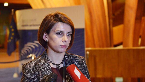 Вице-спикер парламента Грузии Тамара Чугошвили - Sputnik Грузия