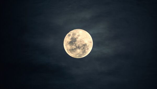 Вид на луну. Архивное фото - Sputnik Грузия