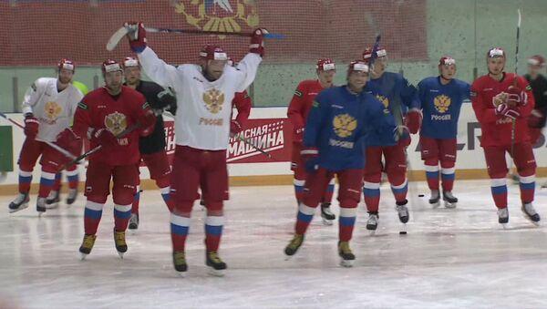 Как сборная России по хоккею готовится к Олимпиаде-2018 - Sputnik Грузия