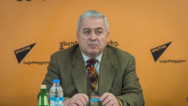 Паата Гиоргадзе - доктор технических наук пресс-центр - Sputnik Грузия