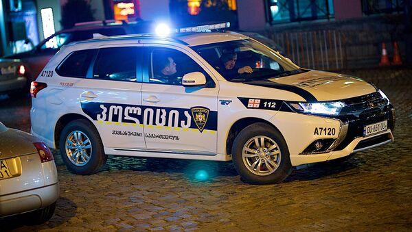 საპატრულო პოლიცია თბილისის ერთ-ერთ ქუჩაზე - Sputnik საქართველო