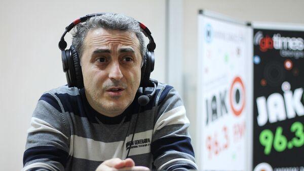 Спортивный журналист Слава Гаспаров - Sputnik Грузия