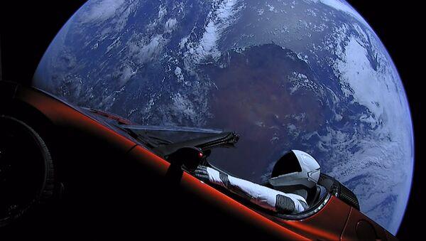 Tesla Roadster კოსმოსში - Sputnik საქართველო