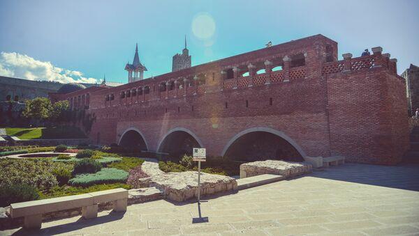 Крепость Рабат - большая крепость в городе Ахалцихе - Sputnik Грузия