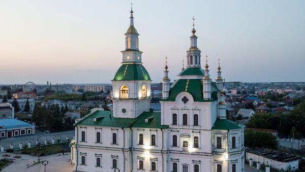 Собор Сретения Господня в городе Ялуторовске Тюменской области. - Sputnik Грузия