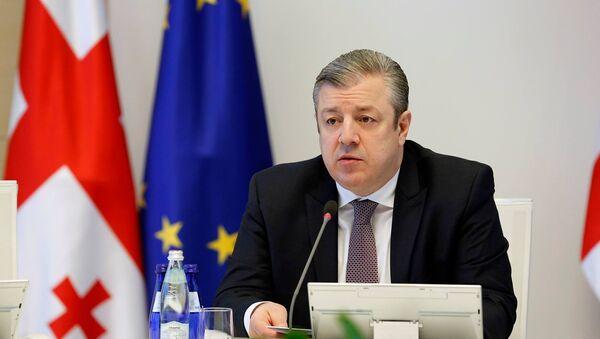 Премьер Грузии Георгий Квирикашвили на заседании правительства - Sputnik Грузия