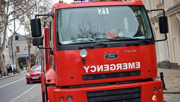 Машина пожарно-спасательной службы 112 - Sputnik Грузия
