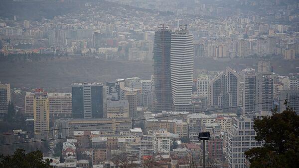 Вид на районы Ваке и Сабуртало города Тбилиси - Sputnik Грузия