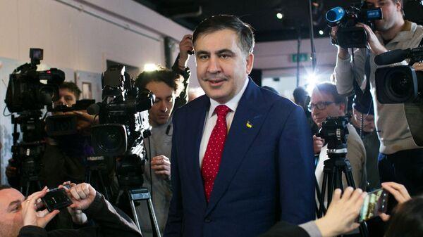 Пресс-конференция Михаила Саакашвили в Варшаве - Sputnik Грузия