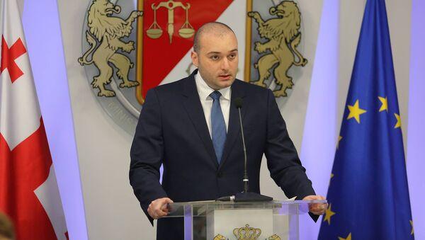 საქართველოს ფინანსთა მინისტრი მამუკა ბახტაძე - Sputnik საქართველო