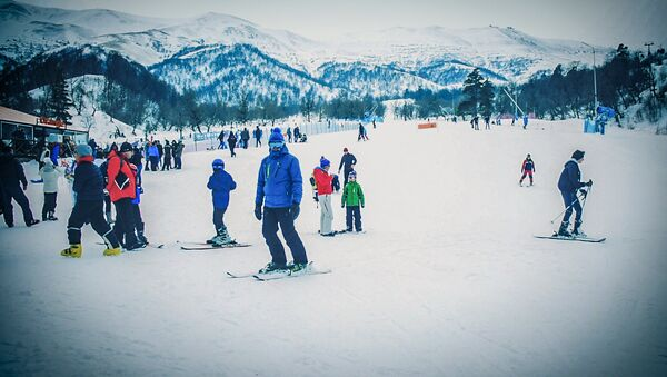 Дидвели: как выглядит одна из лучших горнолыжных трасс Бакуриани - Sputnik Грузия