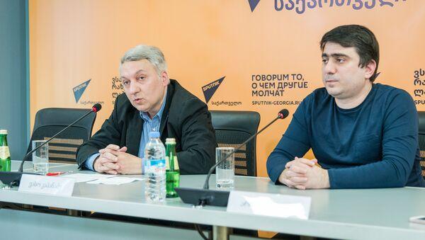 """პრესკონფერენცია """"სახალხო დიპლომატია საქართველოში - გუშინ, დღეს, ხვალ - Sputnik საქართველო"""