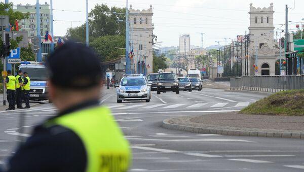 პოლიცია ვარშავის ქუჩებში - Sputnik საქართველო