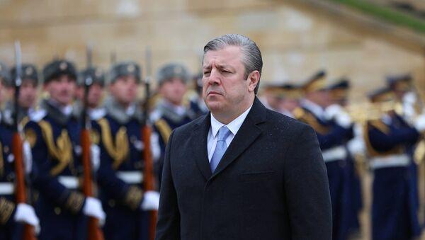 საქართველოს პრემიერ-მინისტრი გიორგი კვირიკაშვილი აზერბაიჯანში - Sputnik საქართველო