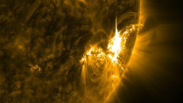 გეომაგნიტური ქარიშხალი მზეზე - Sputnik საქართველო