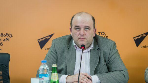 Грузинский эксперт Вахтанг Маисая в пресс-центре Sputnik - Sputnik Грузия