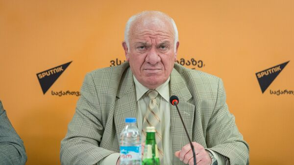 Доктор права, юрист Георгий Коява в пресс-центре Sputnik - Sputnik Грузия